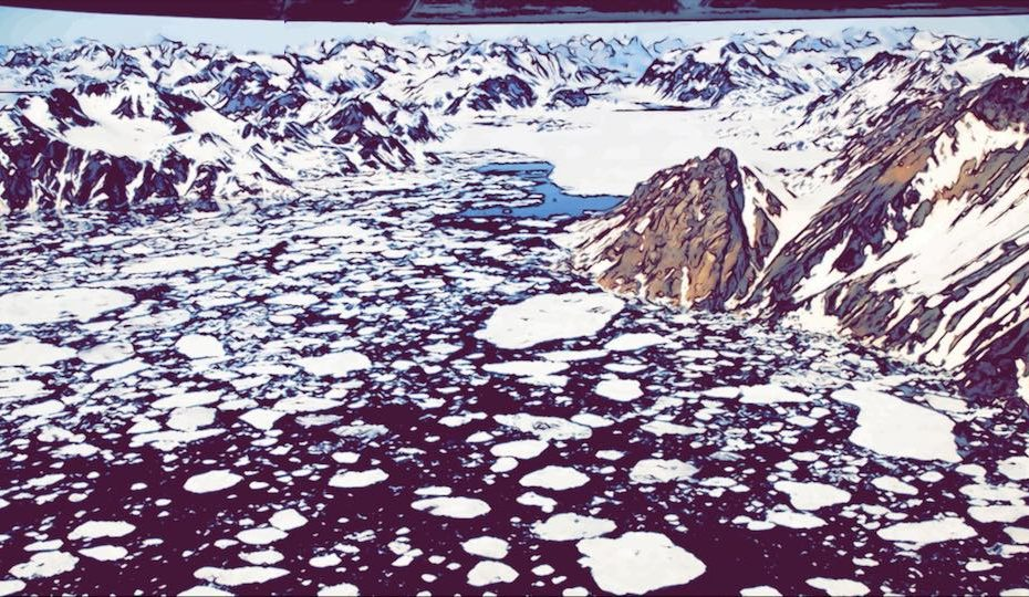 Greenland crossing tipping point